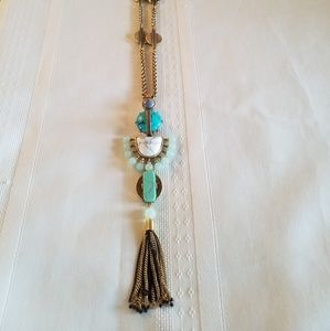 Stella & Dot Totem Tassel 4 in 1 Necklace